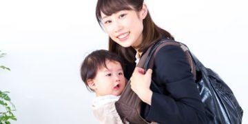子育てしながら働く女性